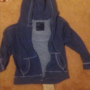 Navy blue /junior hoodie /